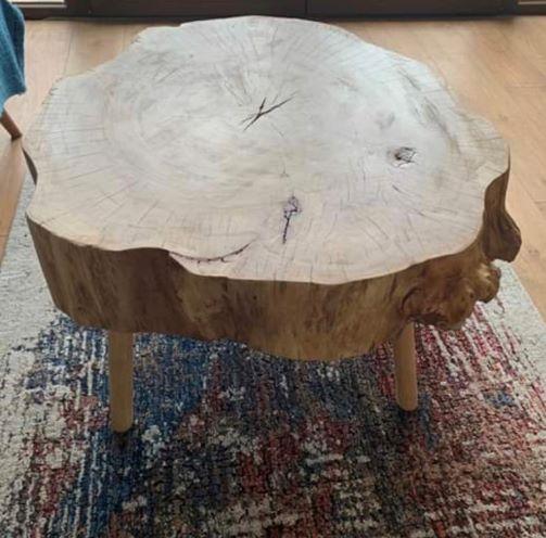 Stolik, stołek na zamówienie indywidualny mebel wolnostojący Max Meble Kacper Zieliński